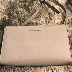 Authentic Michael Kors crossbody and wallet